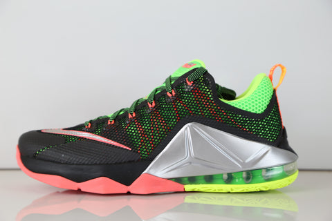 971cc5aa39e ... norway nike lebron xii low remix black silver bolt hot lava 724557 003  69c23 b3dca