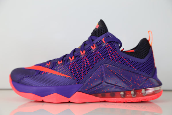 Nike Lebron XII Low Court Purple Bright Crimson 724557-565