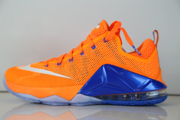 Nike Lebron XII Low Bright Citrus Total Orange 724557-838
