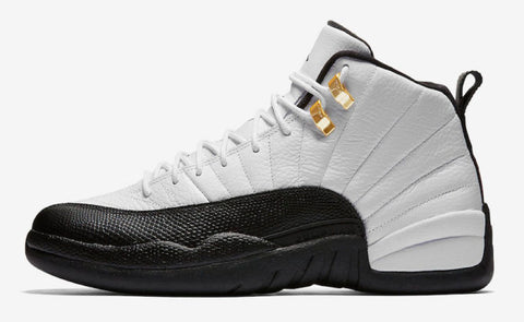 Nike Air Jordan Retro 12 Taxi White Black Special 2018 PRE ORDER (NO Codes)