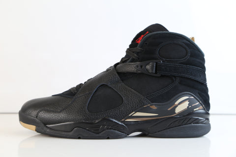 771791b0673b ... uk nike air jordan retro 8 ovo black metallic gold varsity red blur  aa1239 045 2018