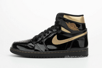 Nike Air Jordan Retro 1 High OG Metallic Gold Black Patent 555088-032 - PRE ORDER