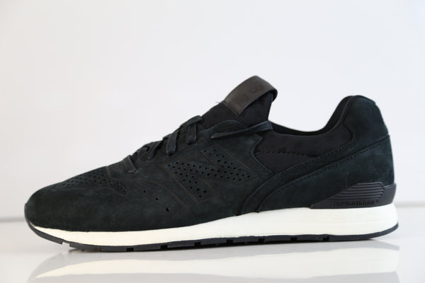 New Balance 696 Deconstructed Black Suede MRL696DK