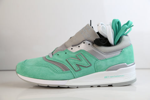 New Balance Concepts 997 Rivalry Pack New York M997NSY Teal Made USA