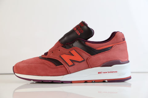 New Balance Made in USA 997 Red Burgundy M997DTAG (NO codes)