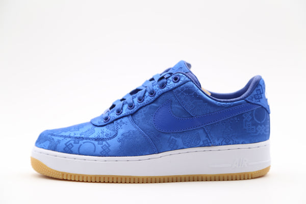 Nike Air Force 1 Low PRM Clot Game Royal Blue Silk CJ5290-400