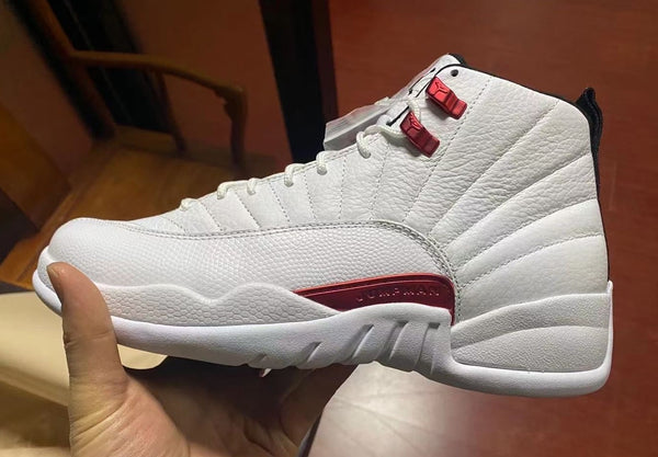 Nike Air Jordan Retro 12 Twist White University Red CT8013-106 - PRE ORDER