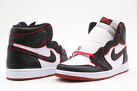 Nike Air Jordan Retro 1 High OG Bloodline Meant to Fly Black Gym Red 555088-062
