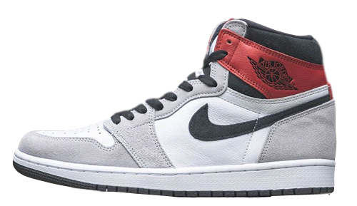 Nike Air Jordan Retro 1 High OG Light Smoke Grey Varsity Red 555088-126 - PRE ORDER