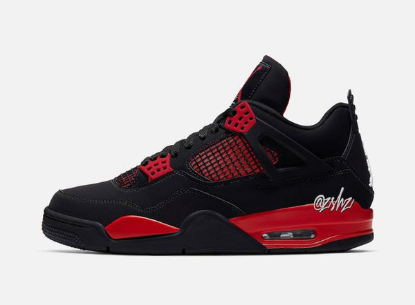 Nike Air Jordan Retro 4 Red Thunder Black CT8527-016 - PRE ORDER