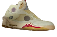 Nike Air Jordan Retro 5 Off-White Part 2 Yellow (Cream) OW 2020 - PRE ORDER