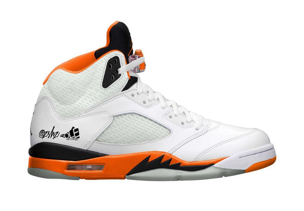 Nike Air Jordan Retro 5 Total Orange White DC1060-100 - PRE ORDER