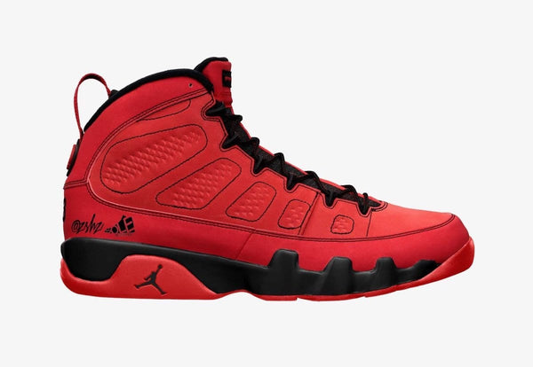 Nike Air Jordan Retro 9 Chile Red Black CT8019-600 - PRE ORDER
