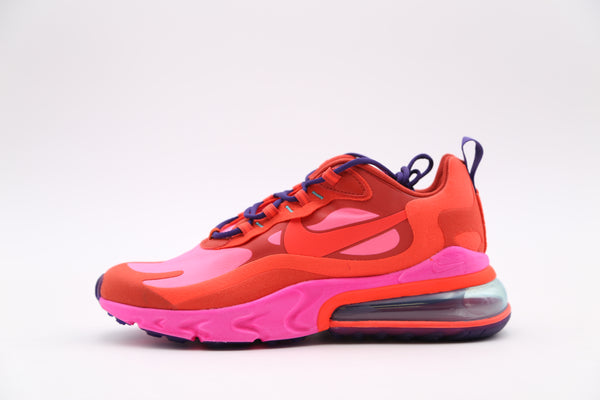 Nike Air Max 270 React Electronic Music Mystic Red Pink Blast AO4971-600