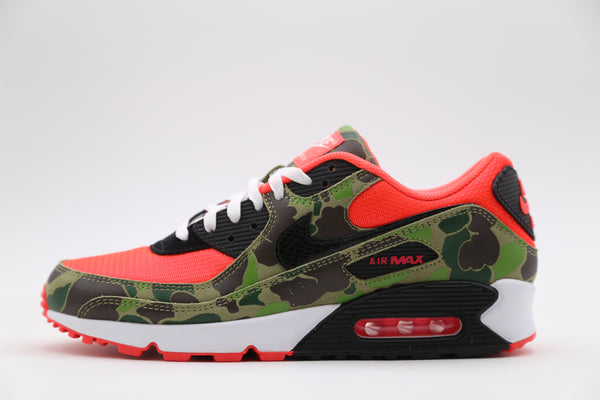 Nike Air Max 90 SP Reverse Duck Camo Infrared Black CW6024-600