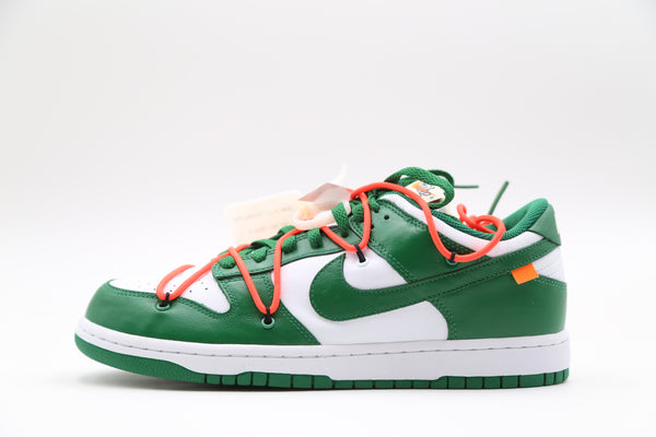 Nike OW Off-White Dunk Low Pine Green White CT0856-100