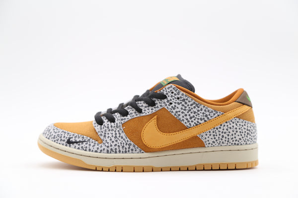 Nike Dunk SB Low Pro ISO Atmos Safari Grey Kumquat CD2563-002