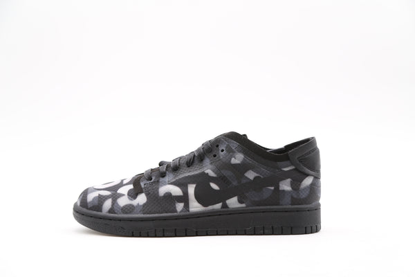 Nike Womens CDG Comme Des Garcons Dunk Low Black Print CZ2675-001