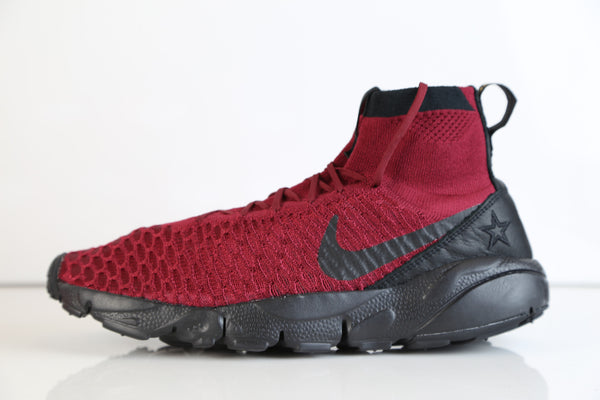 Nike Air Footscape Magista Flyknit FK FC Team REd Black 830600-600
