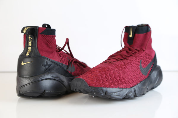 new styles 48810 96cfd ... Nike Air Footscape Magista Flyknit FK FC Team REd Black 830600-600