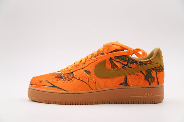 Nike Air Force 1 Low 07 LV8 3 Realtree Camo Orange AO2441-800