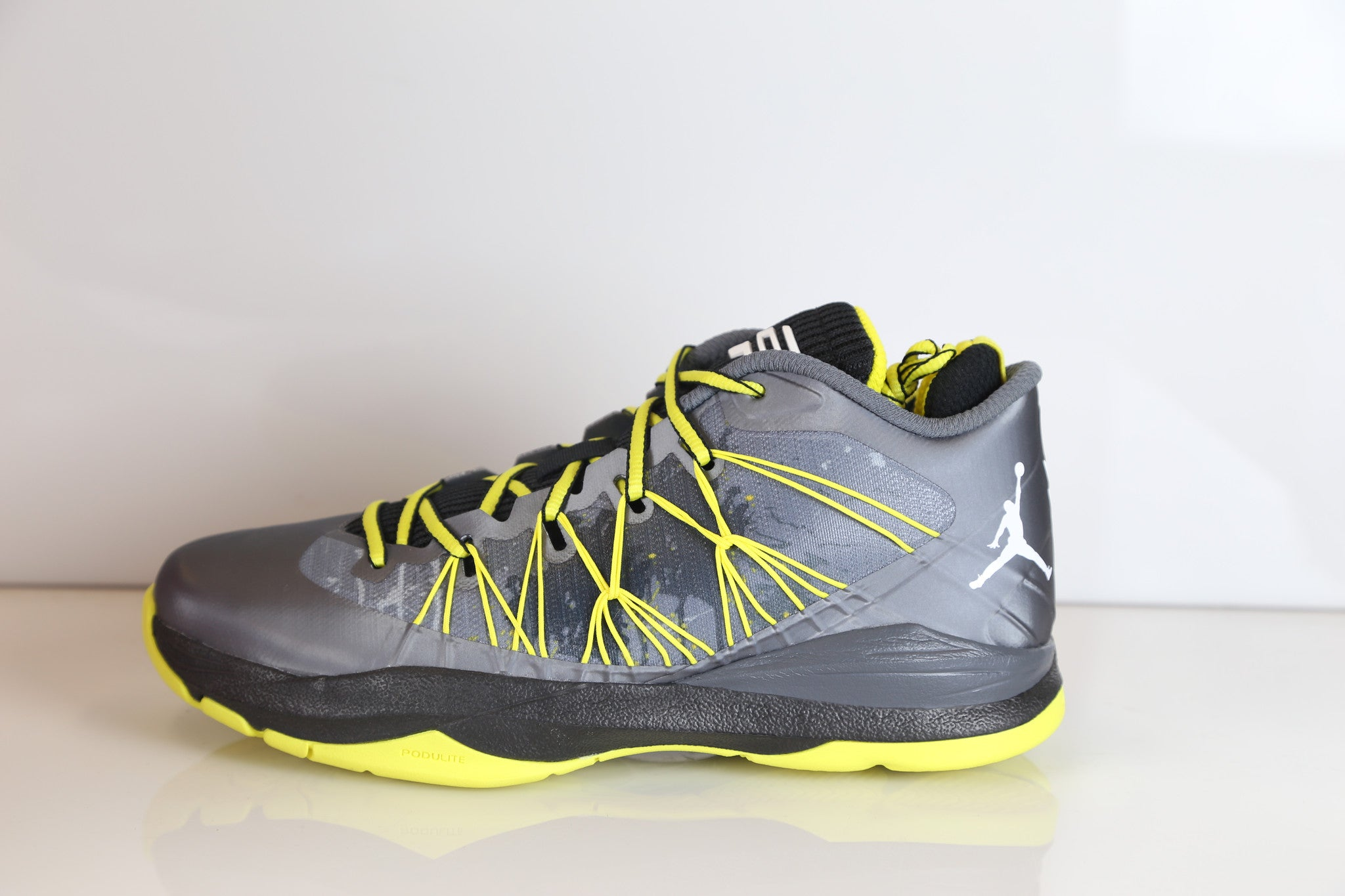 e0ea5ce48971 Nike Air Jordan CP3.VII AE Dark Grey Vibrant Yellow 644805-070 ...