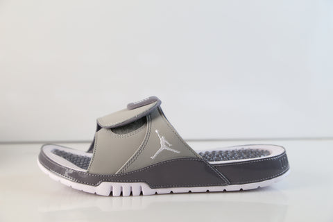 Nike Air Jordan Hydro XI Retro Slide Cool Grey Medium Gunsmoke AA1336-004