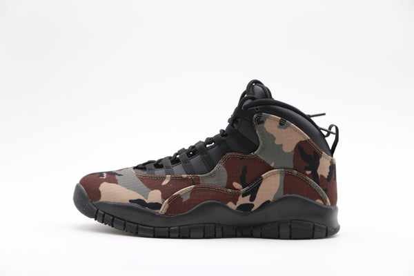 Nike Air Jordan Retro 10 Woodland Camo 310805-201