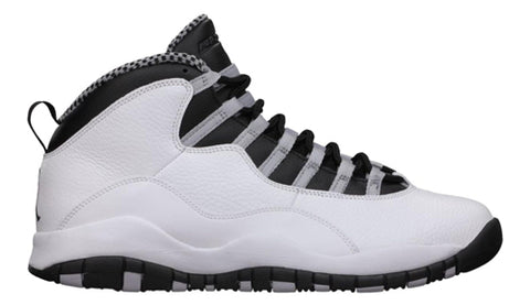 Nike Air Jordan Retro 10 Steel White Black Grey 2018 Adult and GS PRE ORDER