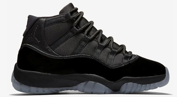 Nike Air Jordan Retro 11 Blackout Black Spring Summer 2018 378037-005 Adult and GS PRE ORDER