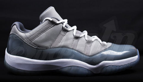 Nike Air Jordan Retro 11 Low Cool Grey Medium Grey Gunsmoke 2018 528895-003 Adult and GS PRE ORDER