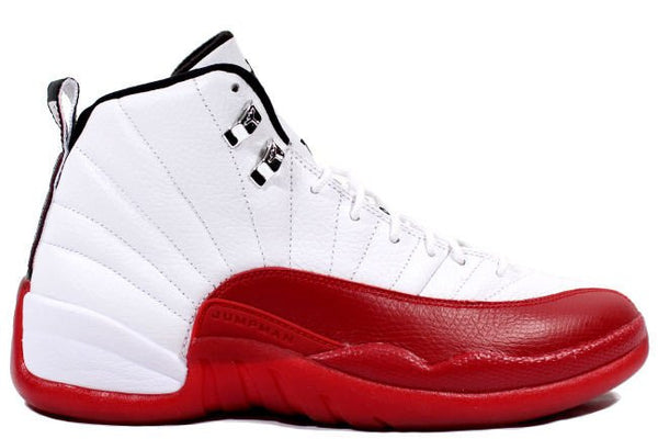 half off ee038 7d070 Nike Air Jordan Retro 12 Cherry White Red 2018 Adult and ...