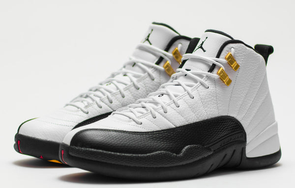 Nike Air Jordan Retro 12 Taxi White Black Red 2017 130690-125 Adult and GS PRE ORDER