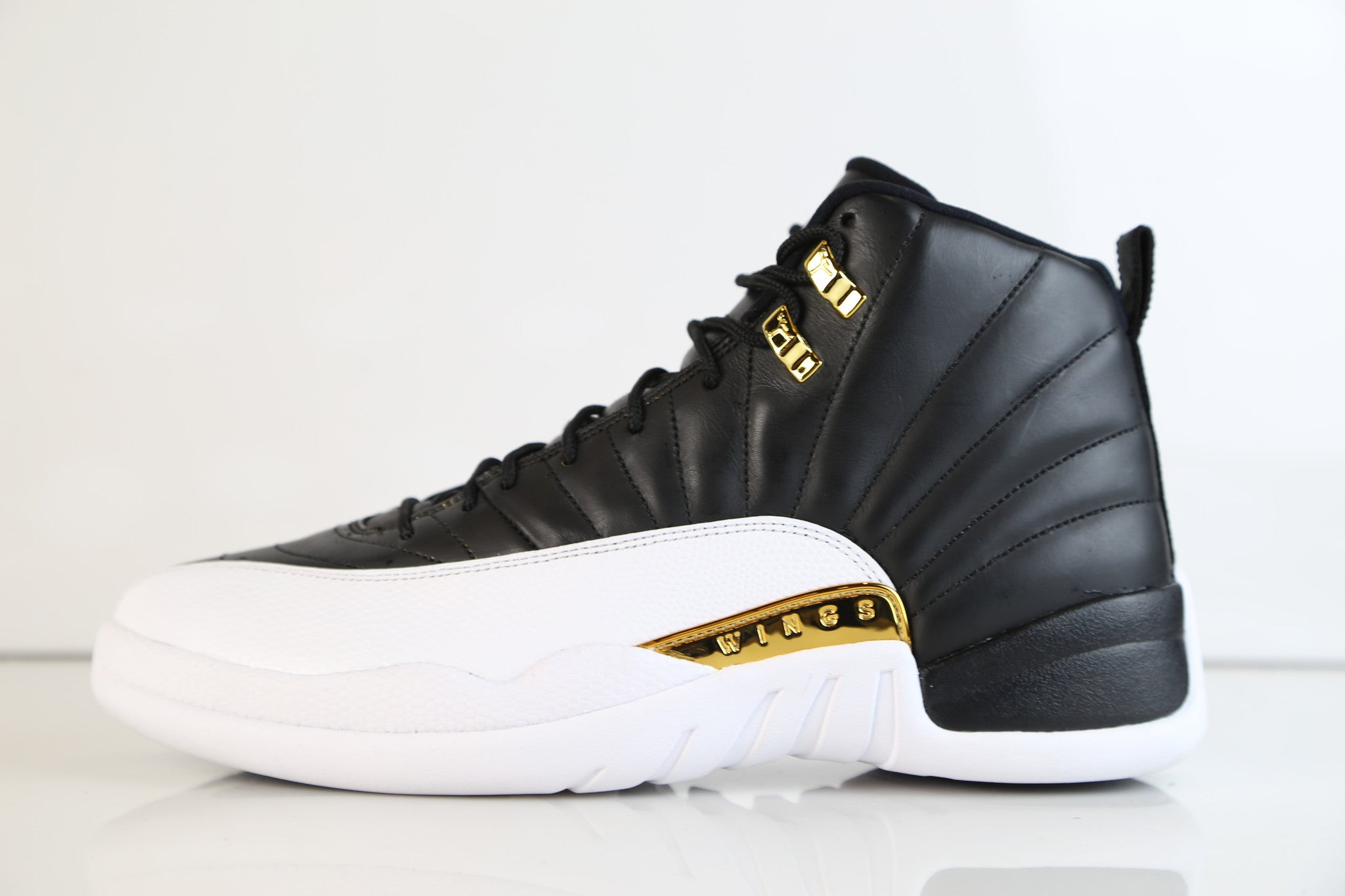 7db66691143d Nike Air Jordan Retro 12 WINGS Black Metallic Gold 848692-033 ...