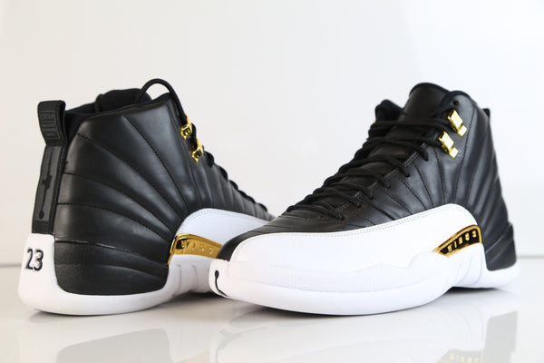 0f3d3ba8876f ... Nike Air Jordan Retro 12 WINGS Black Metallic Gold 848692-033 ...