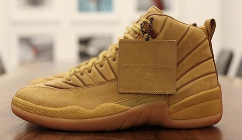 Nike Air Jordan Retro 12 X PSNY Wheat 2017 PRE ORDER (NO Codes)