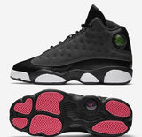 Nike Air Jordan Retro 13 Black Pink 439358-009 GG GS 2017