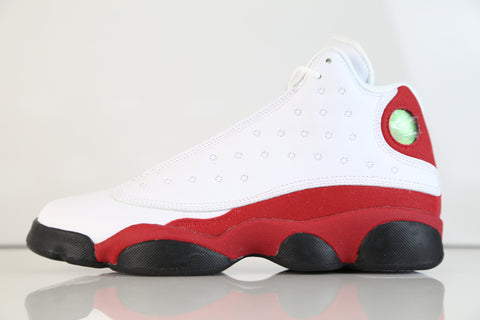 Nike Air Jordan Retro 13 Chicago Bulls White True Red 414574-122 BG GS Kids (NO Codes)