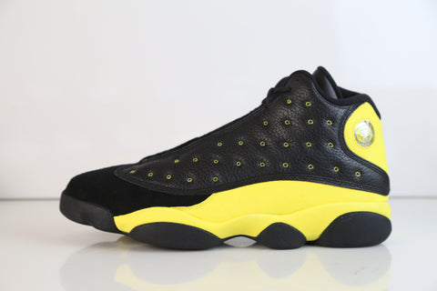 Nike Air Jordan Retro 13 Oregon Ducks Track Field Black Yellow size 11 ($4500 SEE DESRCIPTION FOR PAYMENT)