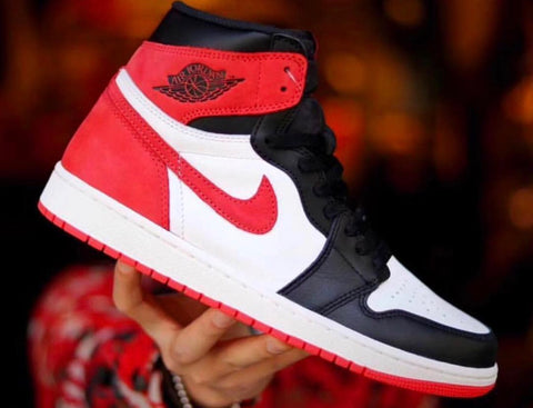 Nike Air Jordan Retro 1 High OG 6 Rings Black Toe Track Red 555088-112 PRE ORDER