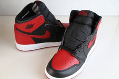 Nike Air Jordan Retro 1 Bred Banned 2016 555088-001 Adult and GS Kids sizes 3.5y-14