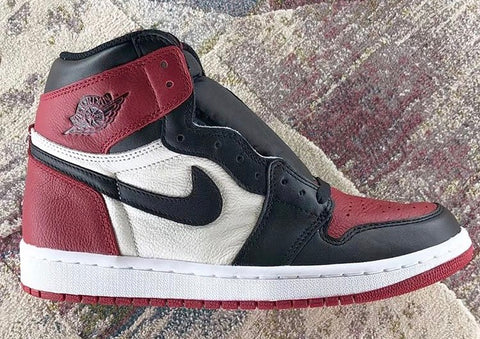 Nike Air Jordan Retro 1 High OG Black Summit White Gym Red Toe 555088-610 2018 Adult and GS PRE ORDER