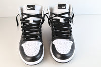 Nike Air Jordan Retro 1 High OG Custom Perforated White Black Toe 555088-100 size 10.5