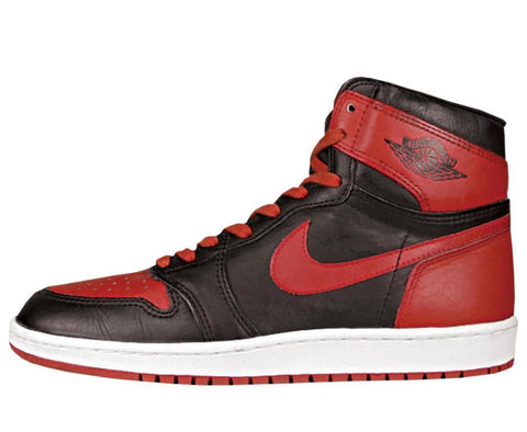 Nike Air Jordan Retro 1 High OG Cut 1985 Bred Black Red 2019 - PRE ORDER