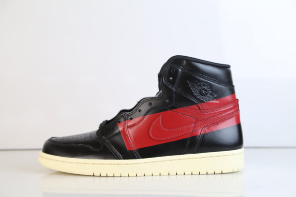 Nike Air Jordan Retro 1 High OG Defiant Couture Black Red BQ6682-006