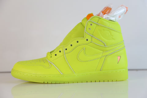 Nike Air Jordan Retro 1 High OG G8RD Gatorade Cyber AJ5997-345 (NO Codes)