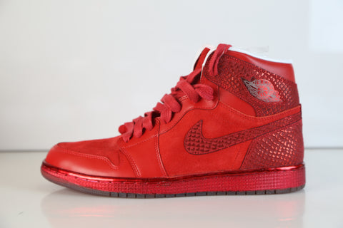 Nike Air Jordan Retro 1 High OG LOTS Legends of Summer Red NEW size 10.5 ( 34fd25a39