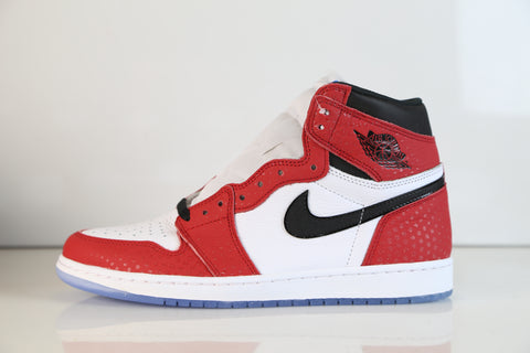 Nike Air Jordan Retro 1 High OG Spider-Man Origin Story Chicago 555088-602