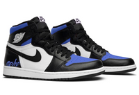 Nike Air Jordan Retro 1 High OG Black Game Royal 2.0 Blue Toe 555088-041 - PRE ORDER