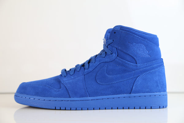 Nike Air Jordan Retro 1 High Team Royal Suede 332550-404 (NO Codes)